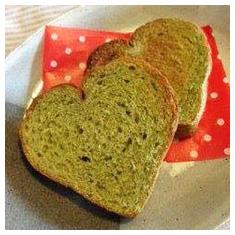 手作り無添加のお野菜食パンママパンは切り口もかわいいハート型